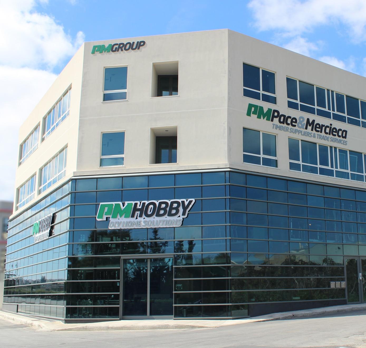 PM Hobby Shop Facade